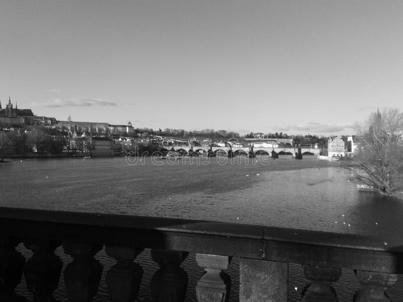 Magisk vår Prague royaltyfri foto