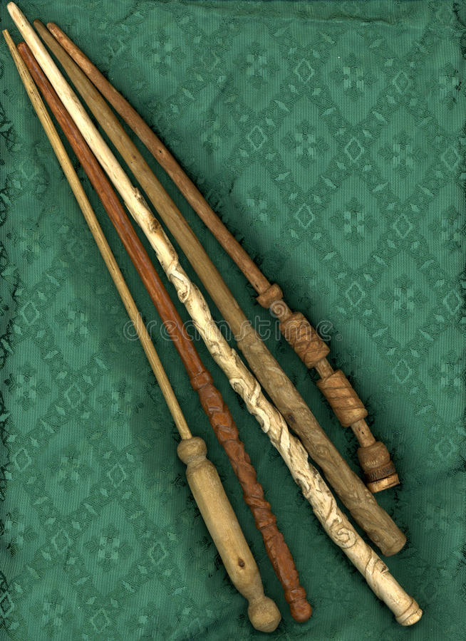 magisk wand royaltyfria bilder