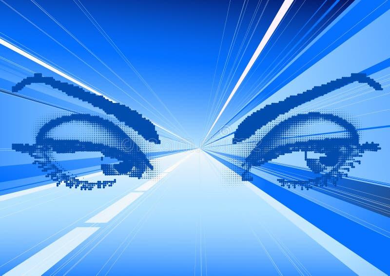 magiska ögonlampor vektor illustrationer