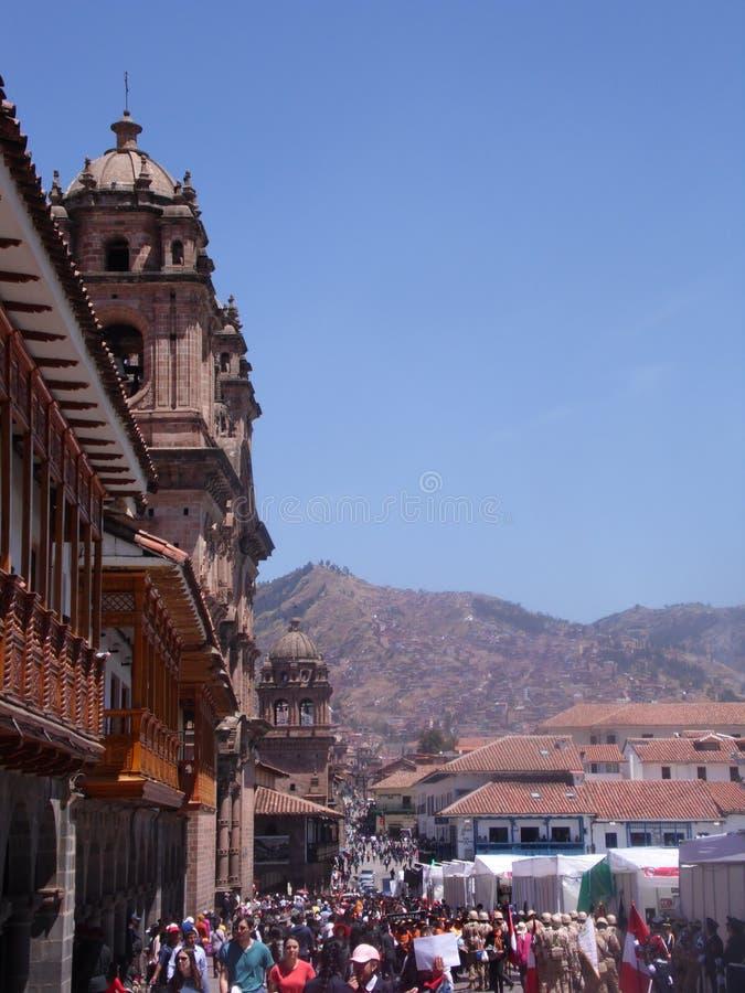Magiska Cuzco arkivbilder