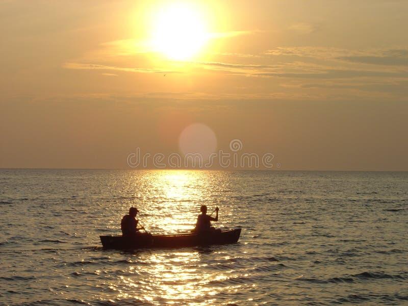 magiska Great Lakes royaltyfria bilder