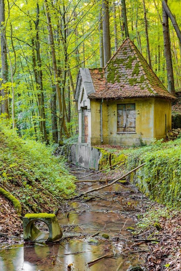 Magiskt vattenhus royaltyfri fotografi