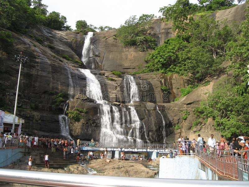 Magistrala Spada W Coutrallam, tamil nadu fotografia royalty free