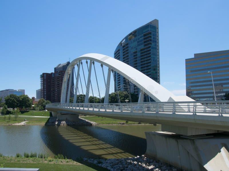 Magistrali St most przed Miranova fotografia stock