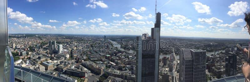 magistrali wierza, Frankfurt fotografia stock