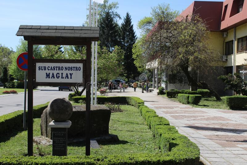 Maglaj BiH fotos de stock royalty free