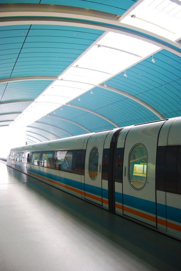 maglev τραίνο στοκ εικόνα με δικαίωμα ελεύθερης χρήσης