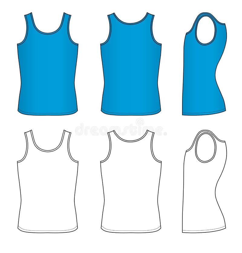 Maglia blu illustrazione di stock
