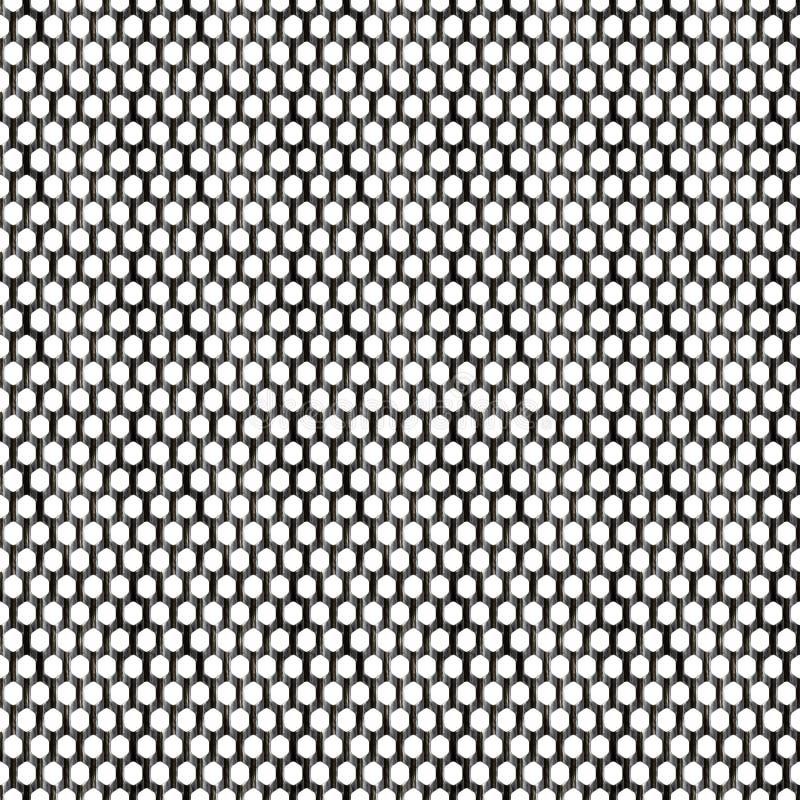 Maglia d'acciaio illustrazione vettoriale