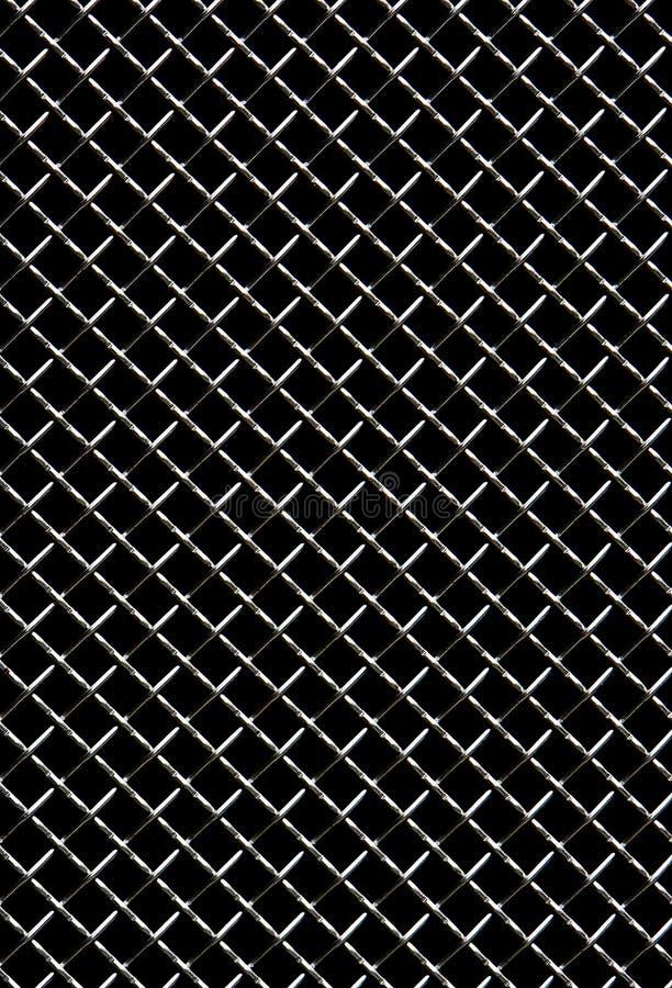 Maglia del nastro metallico fotografia stock