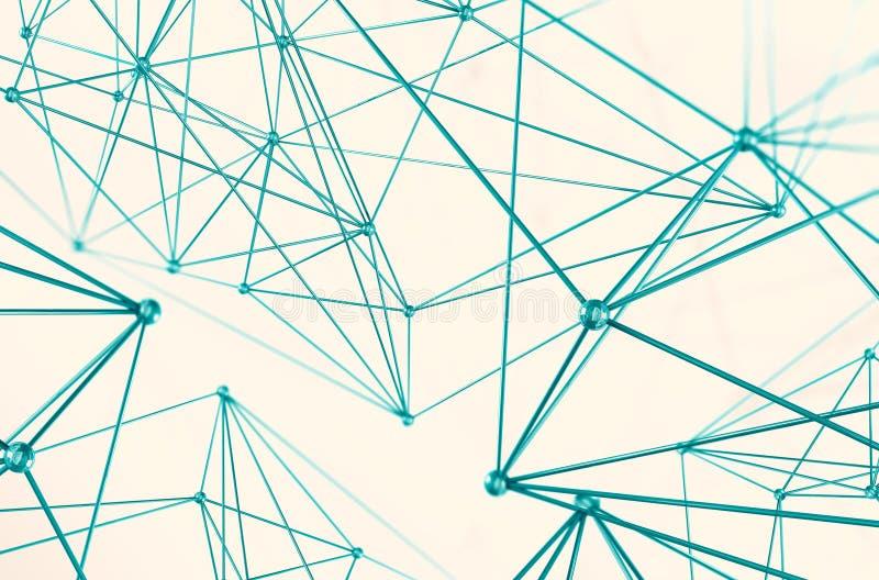 Maglia di concetto della geometria illustrazione vettoriale