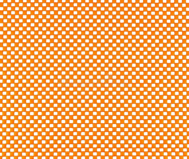 Maglia di gomma arancio immagini stock