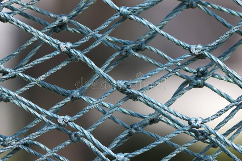 Maglia di nylon blu fotografie stock libere da diritti