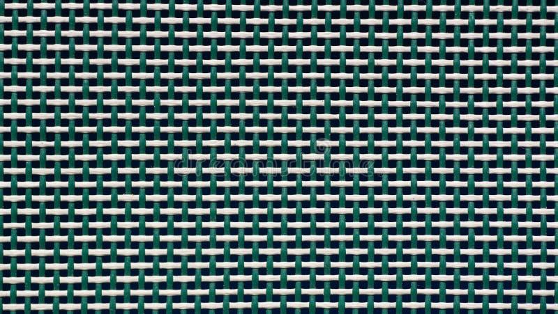 Maglia di plastica tessuta, fine su, fondo immagine stock libera da diritti