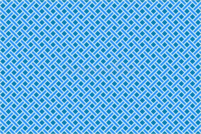 Maglia diagonale senza giunte blu royalty illustrazione gratis