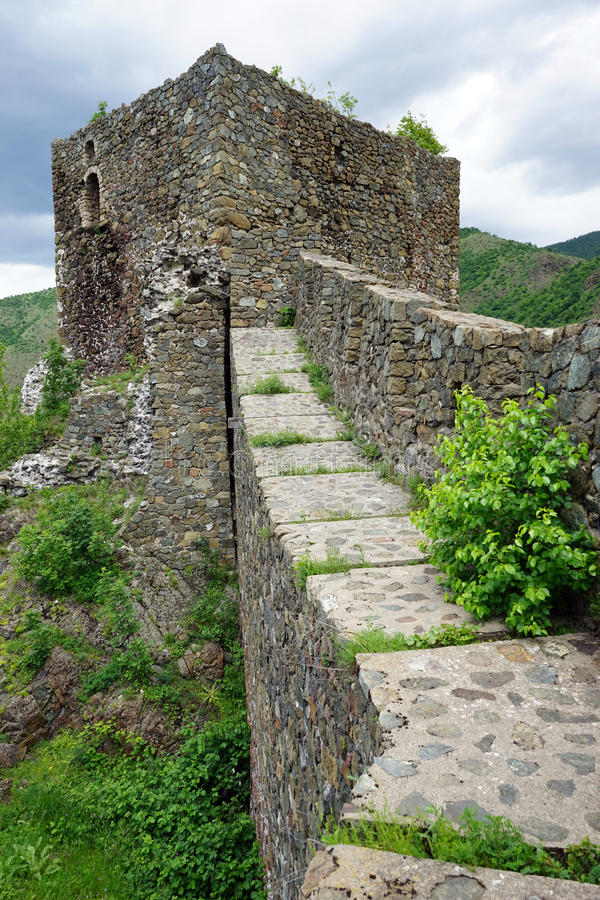 Maglic fortress royalty free stock photo