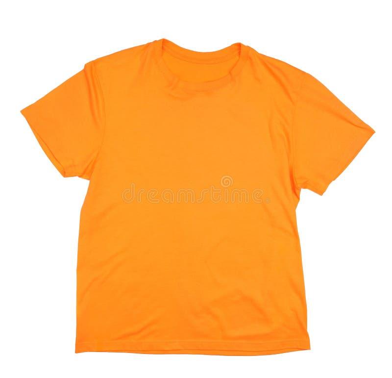 Maglietta arancio fotografia stock