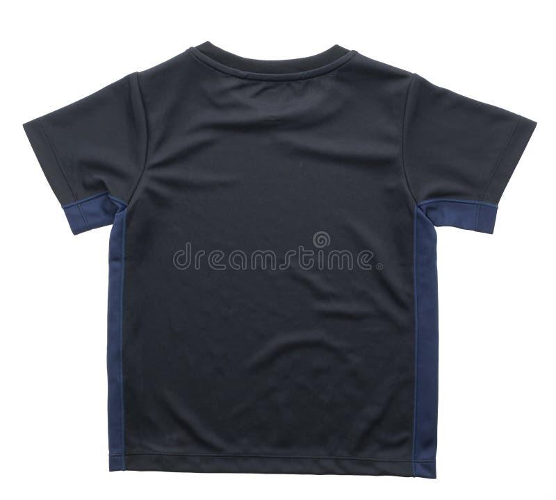 Maglietta nera per abbigliamento fotografie stock libere da diritti