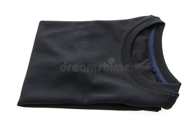 Maglietta nera per abbigliamento fotografia stock libera da diritti