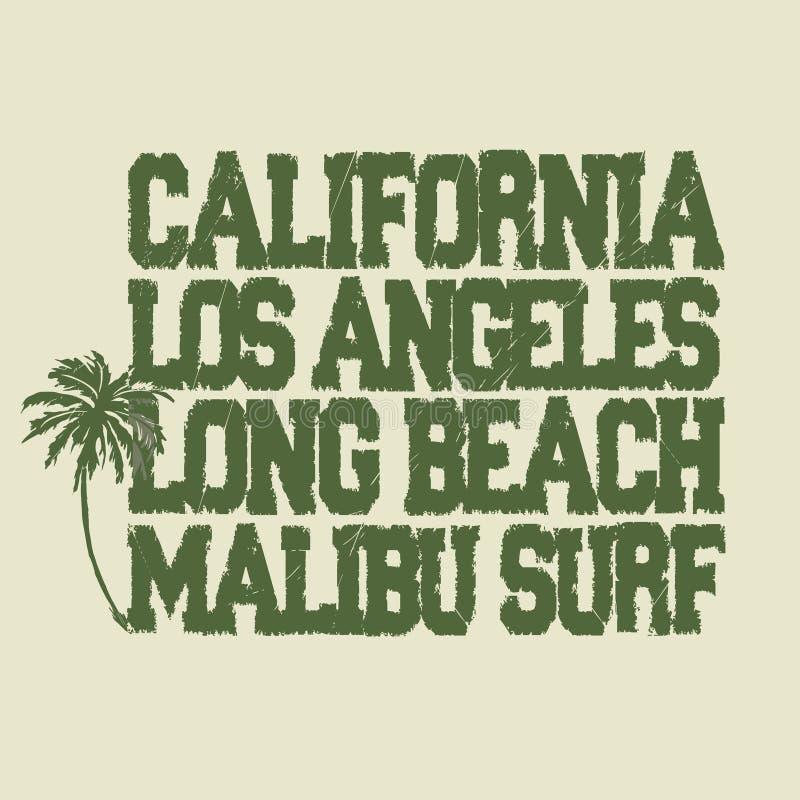 Maglietta praticante il surfing illustrazione vettoriale