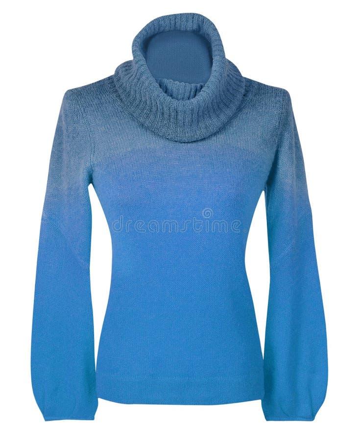 Maglione blu fotografia stock