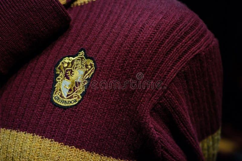 Maglione di Gryffindor fotografie stock libere da diritti
