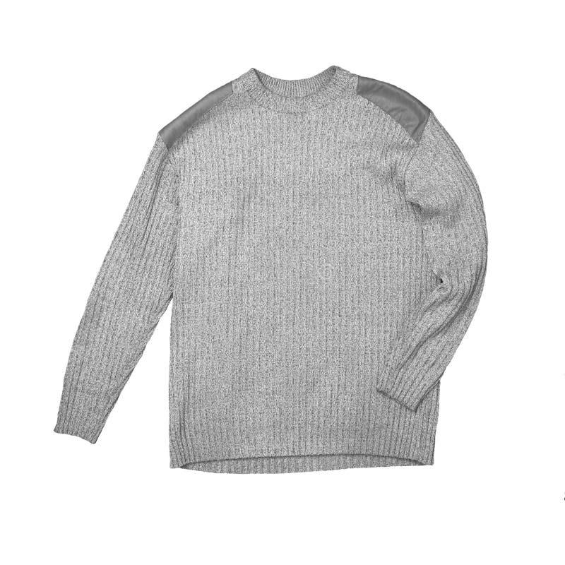 Maglione grigio immagini stock