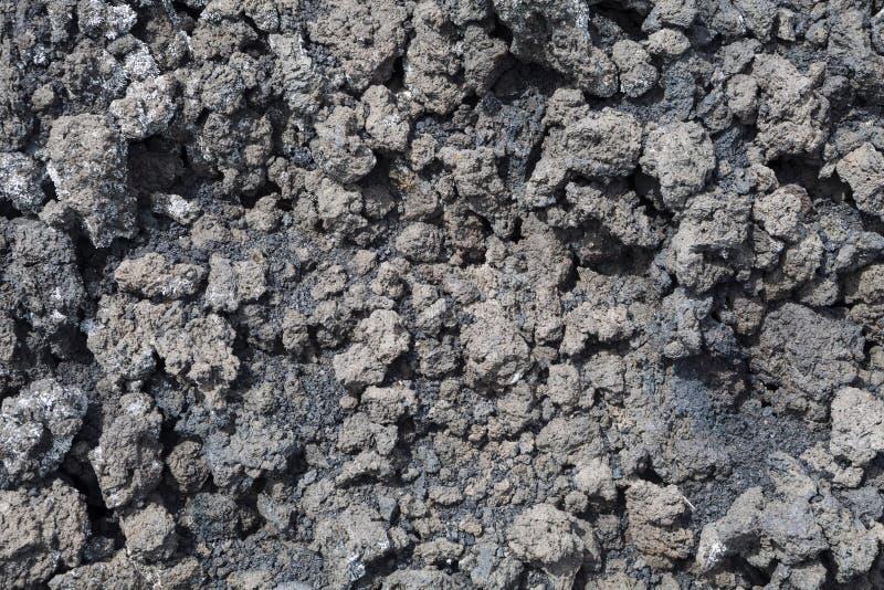 Magma de lave, volcan de l'Etna images stock
