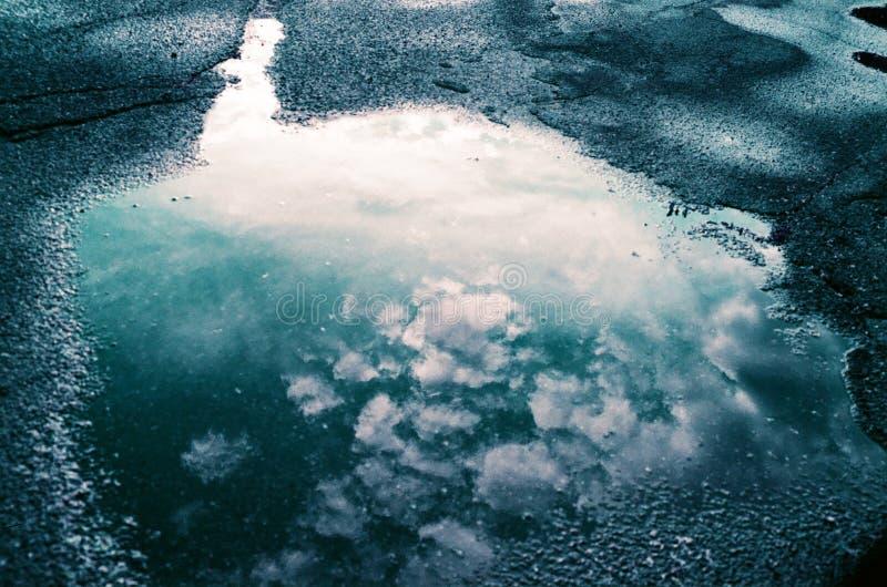 Magma de pluie photo libre de droits