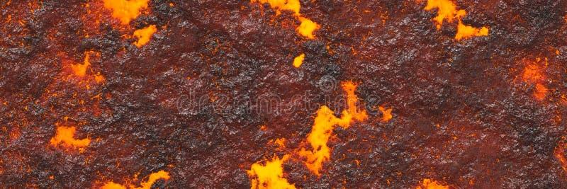 Magma del fondo del volc?n libre illustration