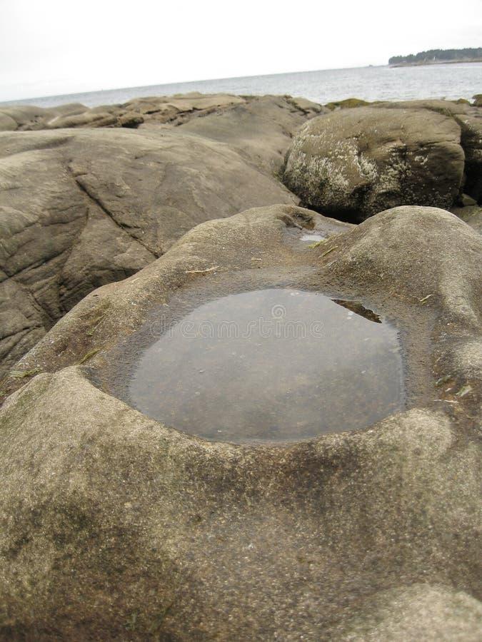 Magma en pierre de sable image libre de droits