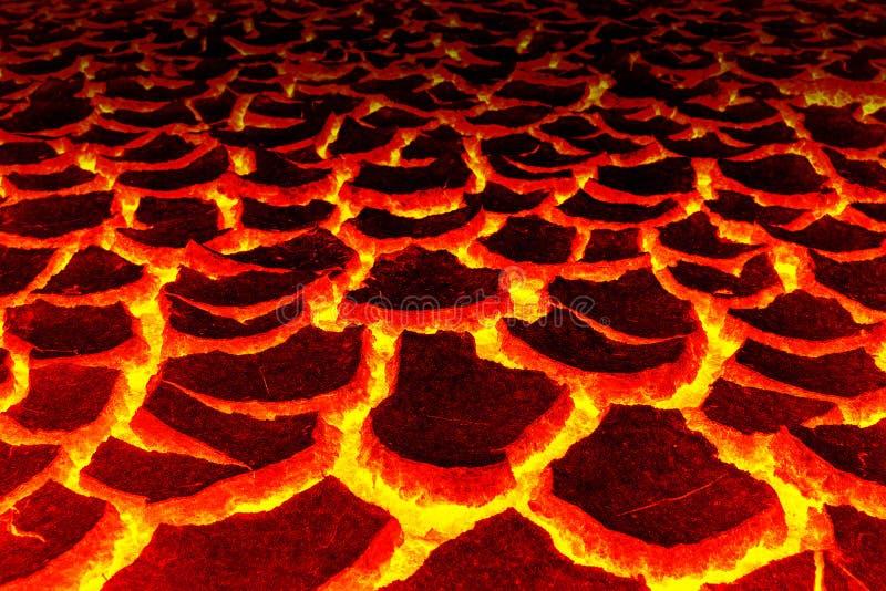 Magma-Hintergrund, das rote Sprung astage für Hintergrund lizenzfreies stockfoto