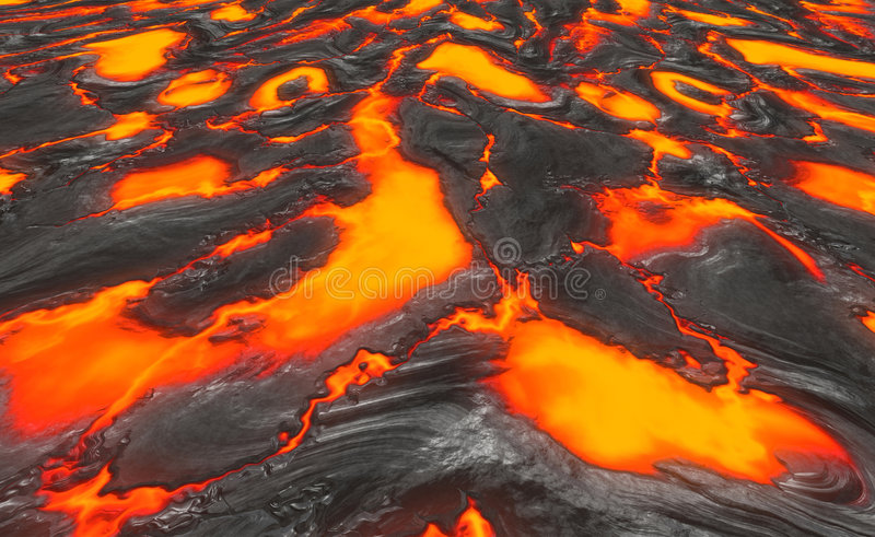 Download Magma or molten lava stock vector. Image of drawing, fissure - 3165525