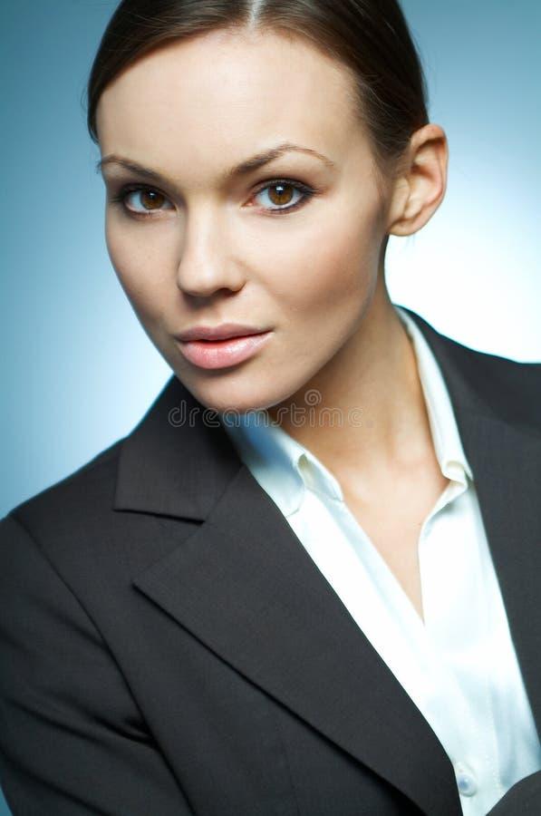 Magnésium sexy de femme d'affaires. image stock