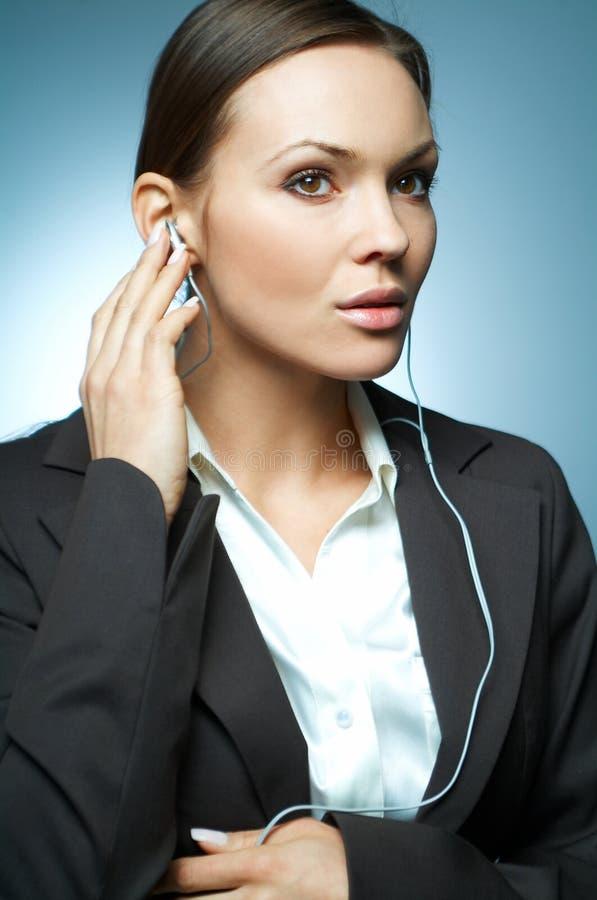 Magnésium sexy de femme d'affaires. photographie stock