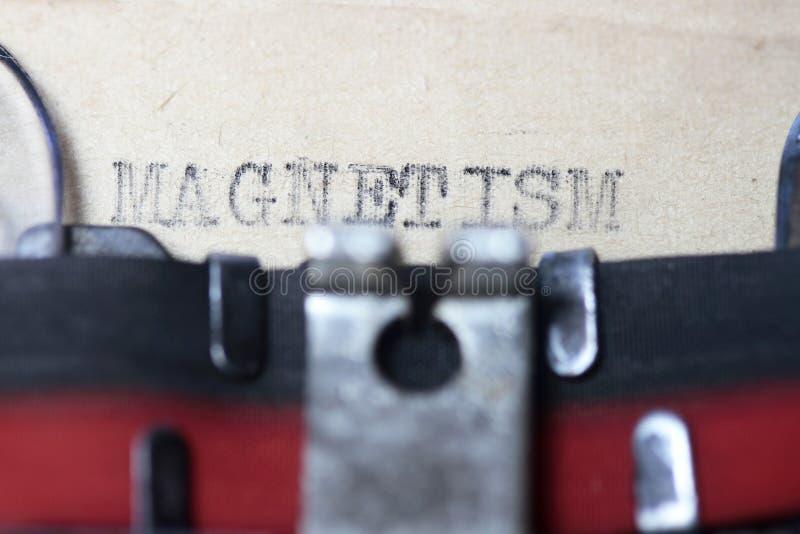 magnétisme photos stock