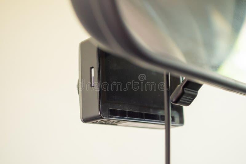 Magnétoscope de caméra de télévision en circuit fermé de voiture pour conduire la sécurité photo stock