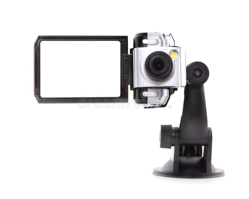Magnétoscope digital de véhicule photographie stock