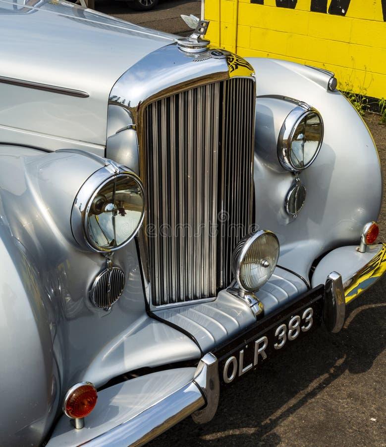 Magnífico tipo Bentley R 1953 fotografía de archivo libre de regalías