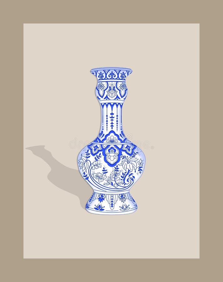 Magn?lia Campbellii da magn?lia do ` s de Campbell, planta de floresc?ncia das ilustra??es das plantas Himalaias 1855 por W H Wal ilustração royalty free