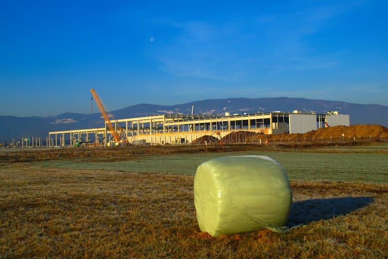 Magna Construction Site, Eslovênia fotos de stock royalty free