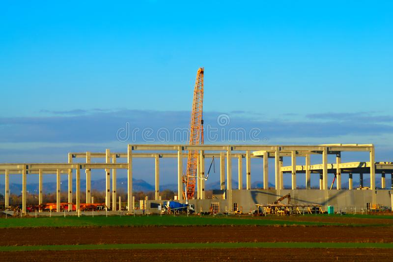 Magna Construction Site, Maribor fotografia de stock
