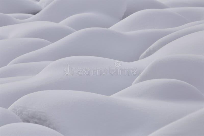Magnati della neve della montagna immagine stock libera da diritti