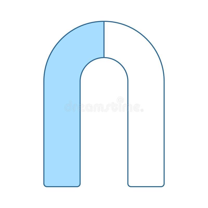 Magneetpictogram vector illustratie