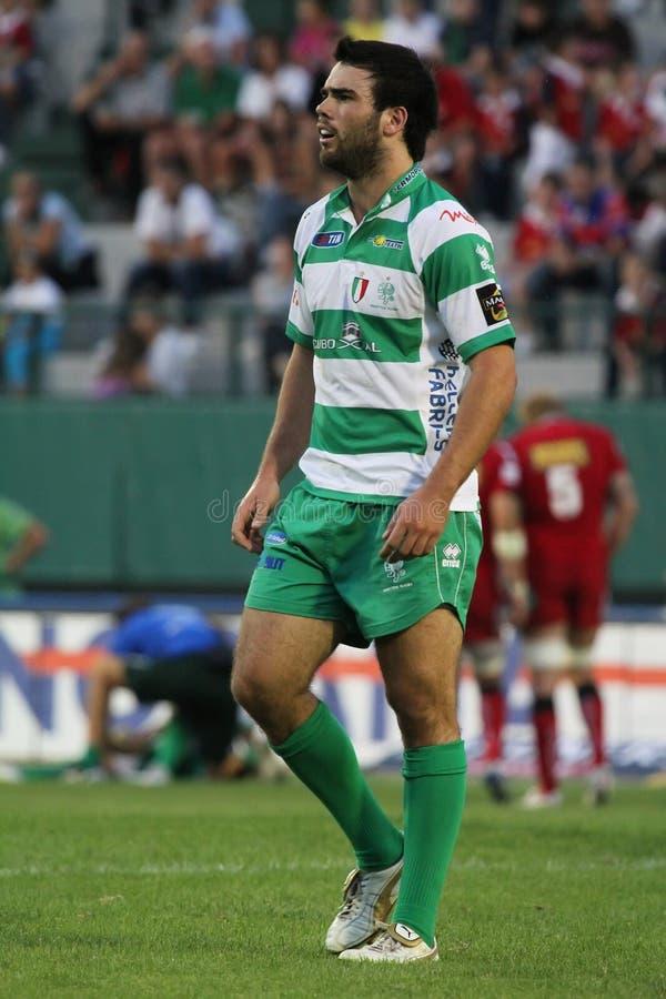 Magners Celtic League, Benetton vs Scarlets stock photo