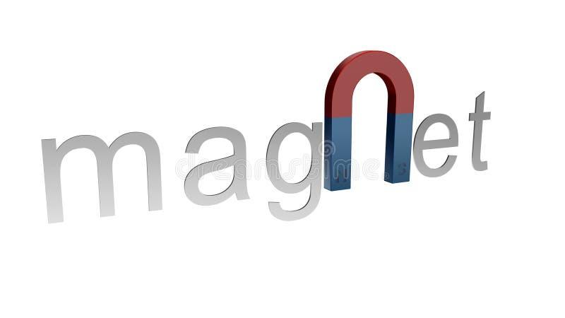 magnes ilustracji