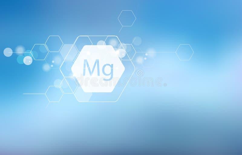 magnesio Ricerca scientifica fotografia stock