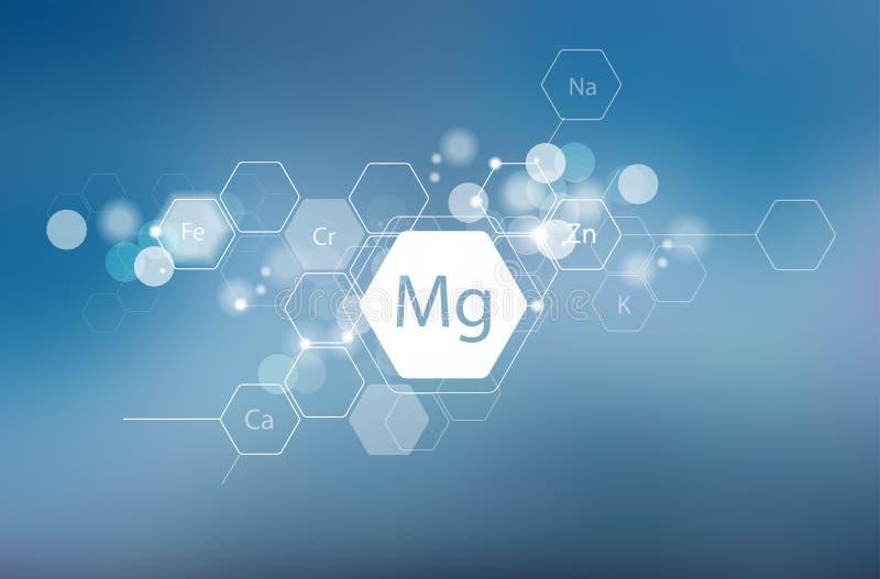 magnesio Ricerca scientifica fotografie stock