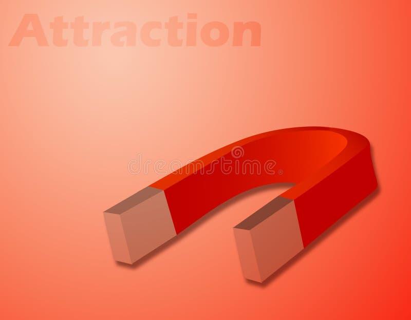 magnet vektor illustrationer