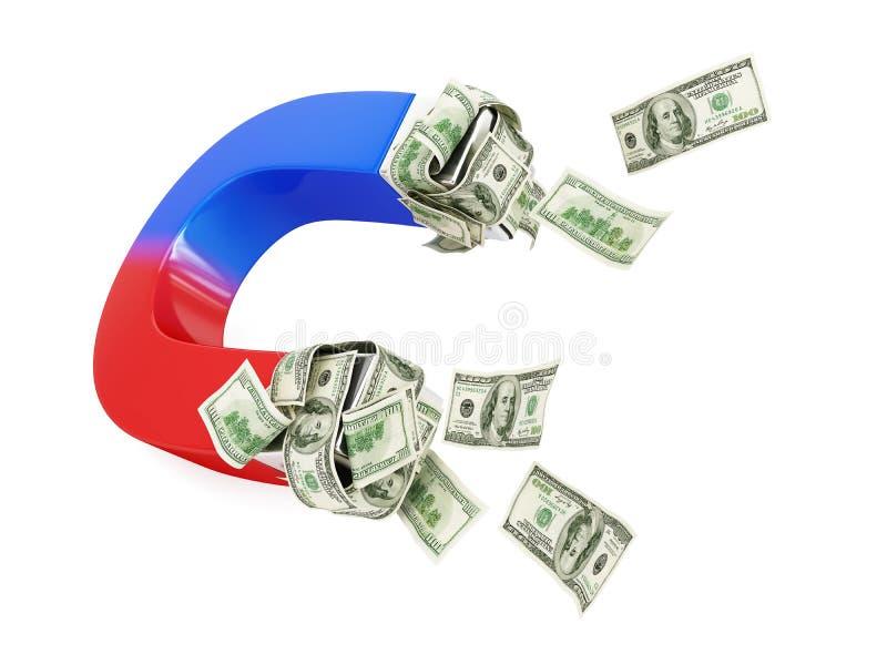 Download Magnet dollar stock illustration. Image of money, polarity - 39066168